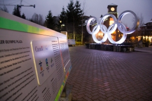 Whistler - Olympic Plaza