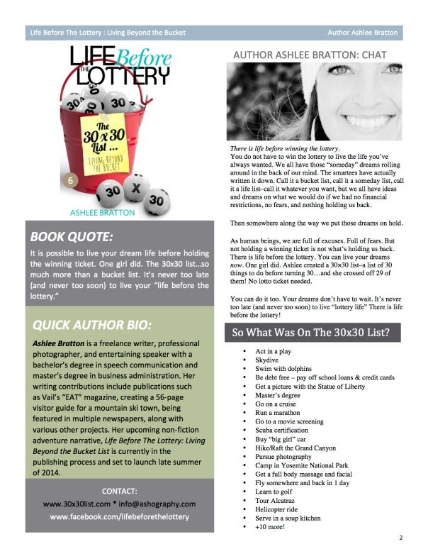 The down and dirty details of Ashlee Bratton - Author Bio